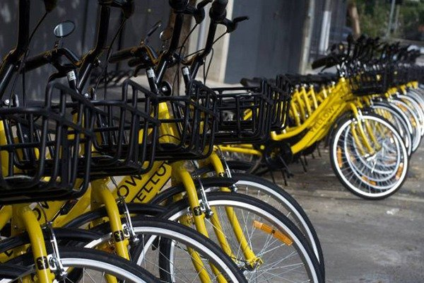 A escondida empresa por trás do sistema das bicicletas Yellow